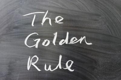 GoldenRule_Chalkboard14167411_s