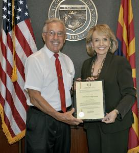 Gov-Brewer-Paul-Golden-Rule-Certificate